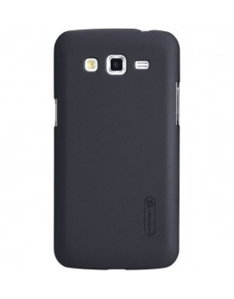 Carcasa protectie spate + folie ecran pentru Samsung Galaxy Grand2 G7102/7105 - neagra
